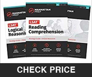 LSAT Strategy Guide Set, LSAT Prep Book