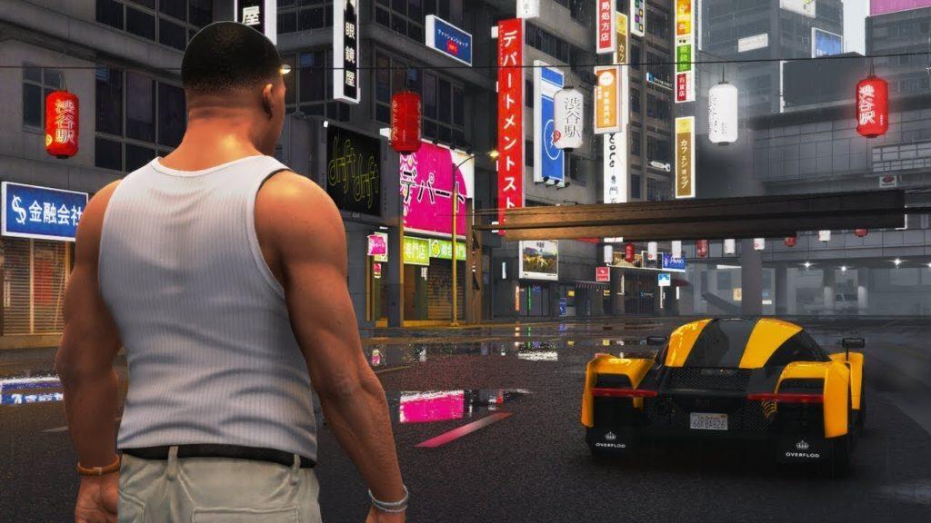GTA 5 on Xbox 360